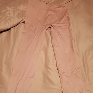 No Boundaries blush colored leggings size Large!